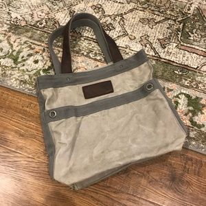 Abercrombie & Fitch Canvas Tote